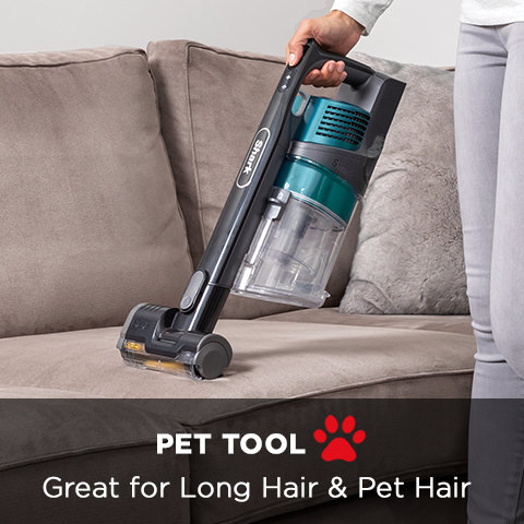 Shark Cordless Pet Vacuum Cleaner with Anti Hair Wrap IZ201UKT